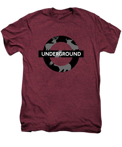 Underground Men's Premium T-Shirt by Alberto RuiZ