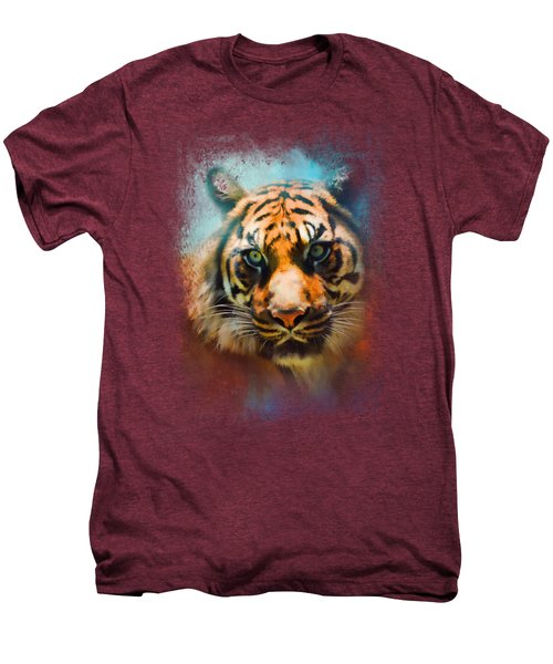Colorful Expressions Tiger 2 Men's Premium T-Shirt by Jai Johnson