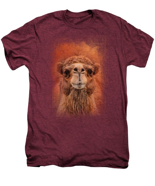 Dromedary Camel Men's Premium T-Shirt by Jai Johnson