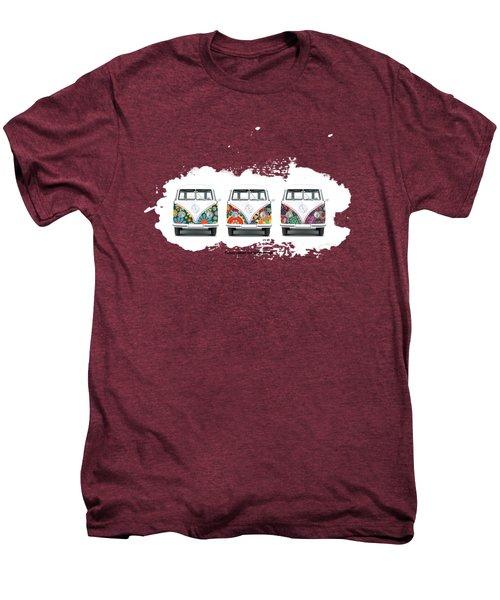 Flower Power Vw Men's Premium T-Shirt by Mark Rogan