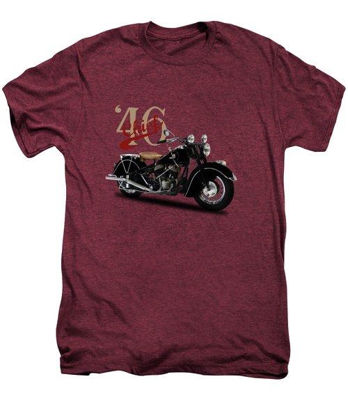Indian Chief 1946 Men's Premium T-Shirt by Mark Rogan