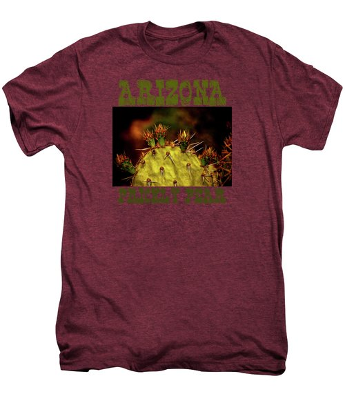 Prickly Pear Spring Men's Premium T-Shirt by Roger Passman