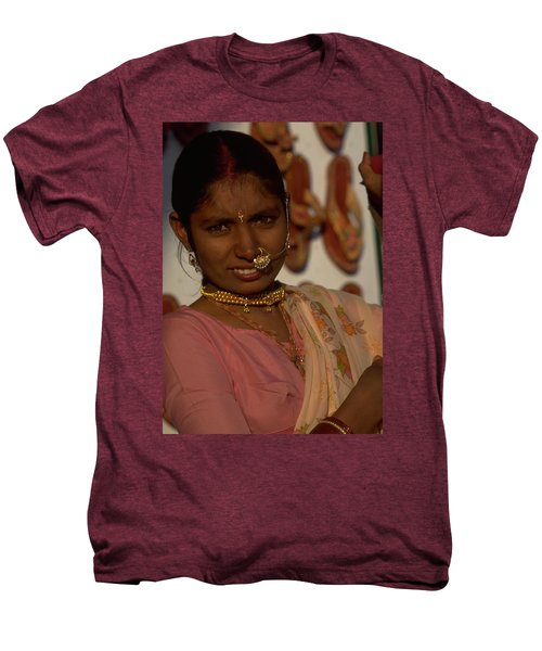 Men's Premium T-Shirt featuring the photograph Rajasthan by Travel Pics