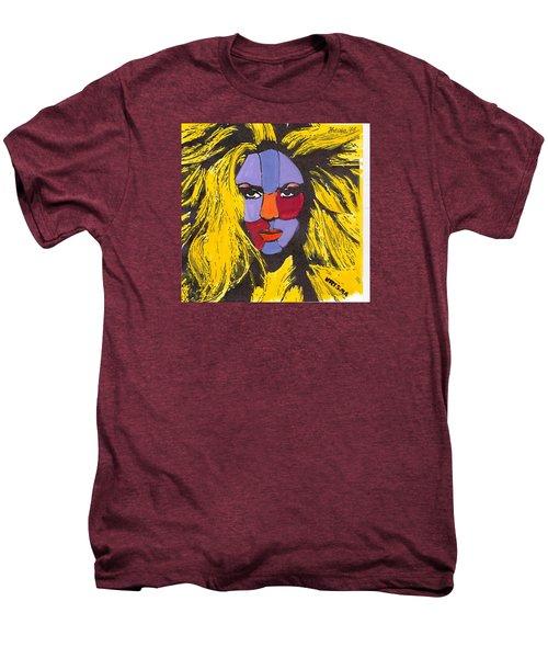 Shakira Men's Premium T-Shirt by Zheni Mavromati