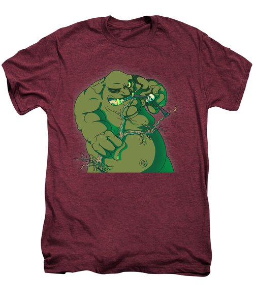 Storybook Ogre Shooting Heads Men's Premium T-Shirt by Jorgo Photography - Wall Art Gallery
