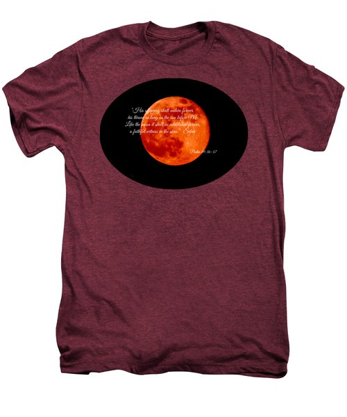 Strawberry Moon Men's Premium T-Shirt by Anita Faye