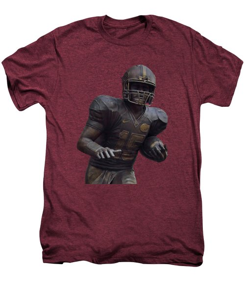 Tebow Transparent For Customization Men's Premium T-Shirt by D Hackett