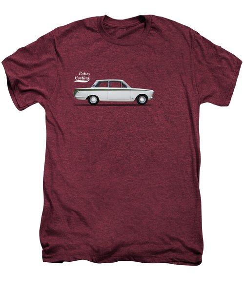 The Lotus Cortina Men's Premium T-Shirt by Mark Rogan