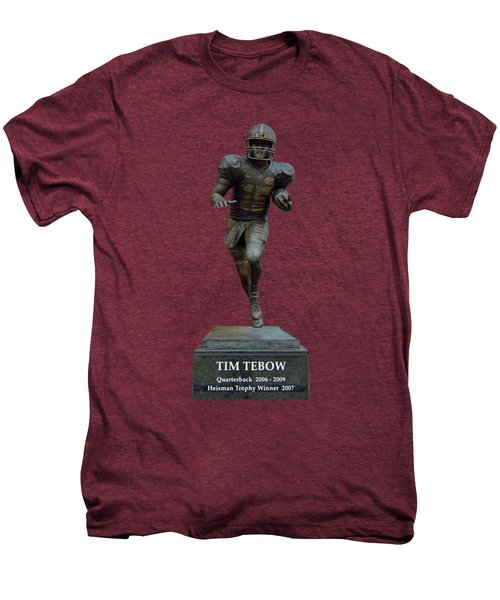 Tim Tebow Transparent For Customization Men's Premium T-Shirt by D Hackett