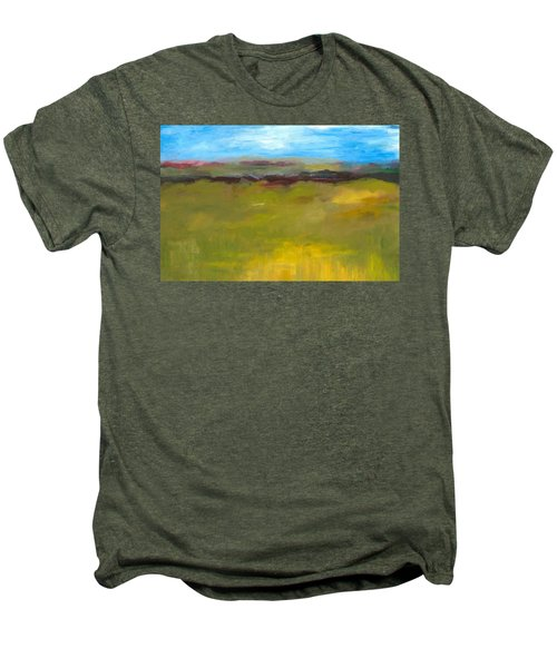 Abstract Landscape - The Highway Series Men's Premium T-Shirt