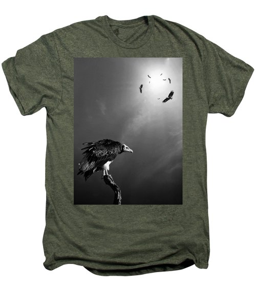 Conceptual - Vultures Awaiting Men's Premium T-Shirt