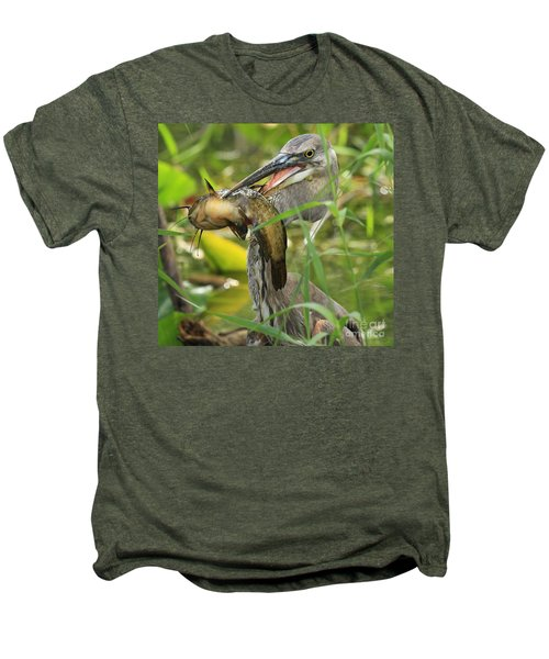 Great Blue Killer Men's Premium T-Shirt by Adam Jewell