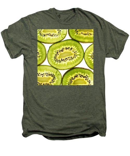 Kiwi Fruit IIi Men's Premium T-Shirt by Paul Ge