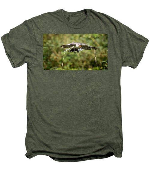 Mockingbird In Flight Men's Premium T-Shirt by Bill Wakeley