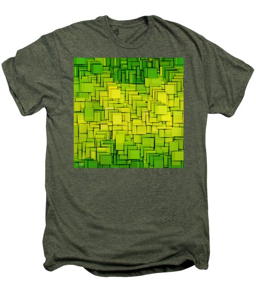 Modern Abstract Xxxiii Men's Premium T-Shirt by Lourry Legarde