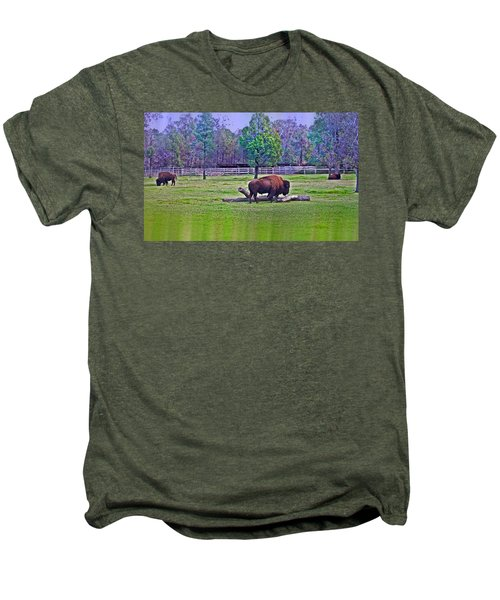 One Bison Family Men's Premium T-Shirt