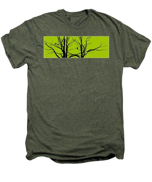 Sitting Around Men's Premium T-Shirt by Lourry Legarde