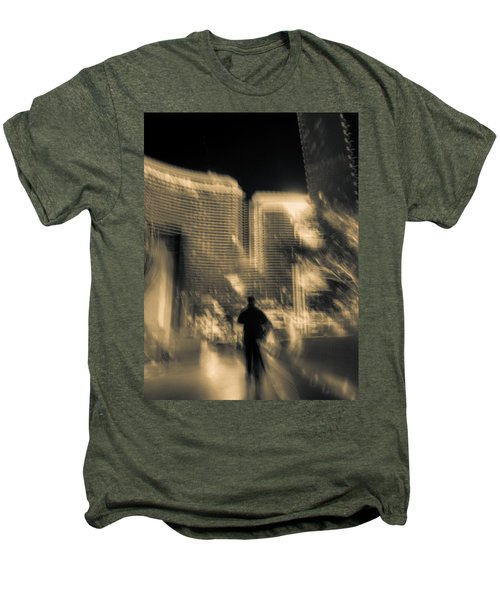 Men's Premium T-Shirt featuring the photograph The World Is My Oyster by Alex Lapidus