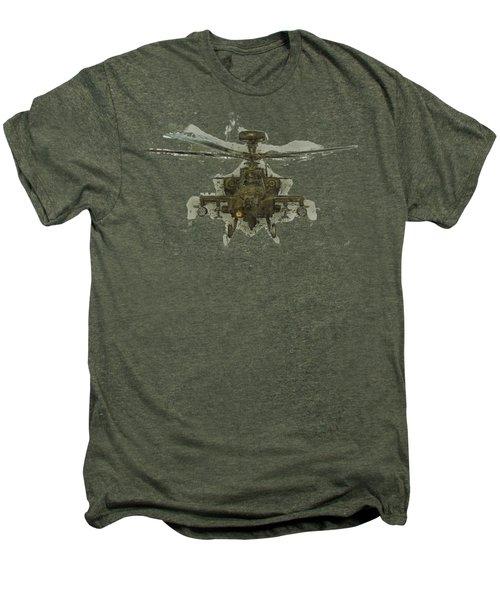 Apache Helicopter Men's Premium T-Shirt