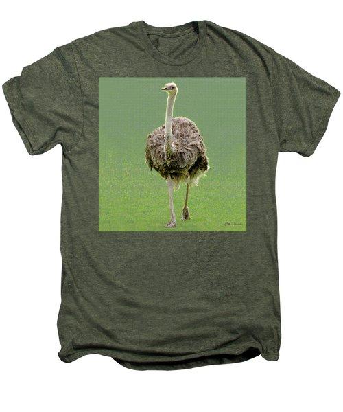 Emu Men's Premium T-Shirt by Ellen Henneke