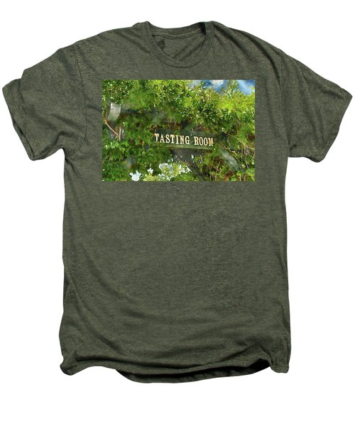 Tasting Room Sign Men's Premium T-Shirt
