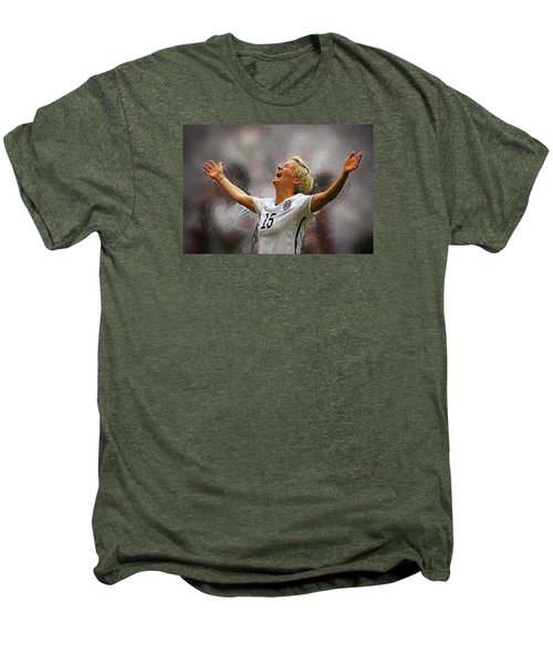 Megan Rapinoe Men's Premium T-Shirt by Semih Yurdabak