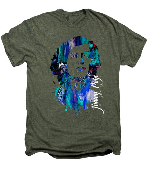 Jimmy Page Collection Men's Premium T-Shirt by Marvin Blaine