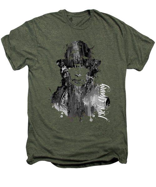 Neil Young Collection Men's Premium T-Shirt by Marvin Blaine