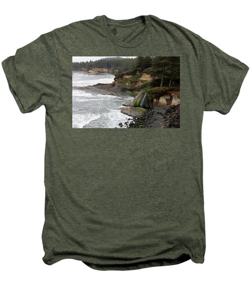 Along The Oregon Coast - 7 Men's Premium T-Shirt
