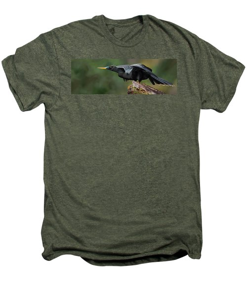 Anhinga Anhinga Anhinga, Costa Rica Men's Premium T-Shirt by Panoramic Images