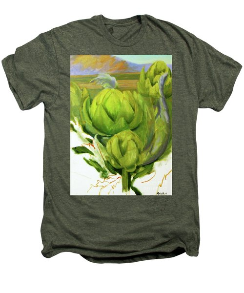 Artichoke  Unfinished Men's Premium T-Shirt