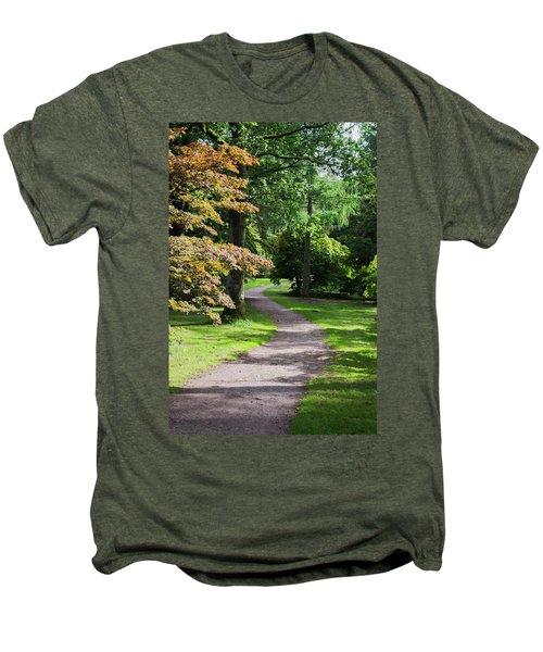 Autumn Forest Path Men's Premium T-Shirt