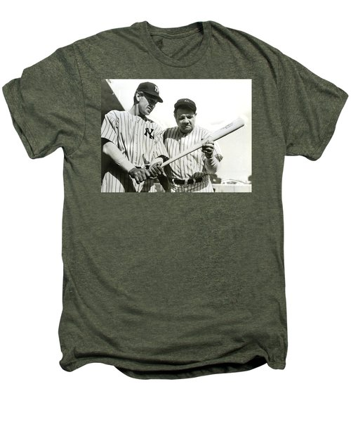 Babe Ruth And Lou Gehrig Men's Premium T-Shirt