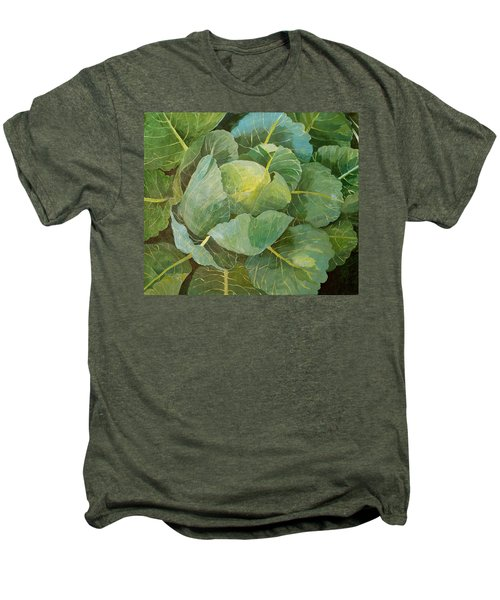 Cabbage Men's Premium T-Shirt by Jennifer Abbot