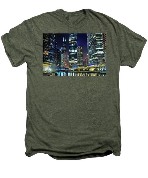 Chicago 2017 Full Moon Men's Premium T-Shirt