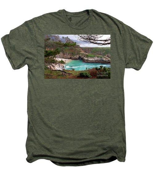 China Cove At Point Lobos Men's Premium T-Shirt
