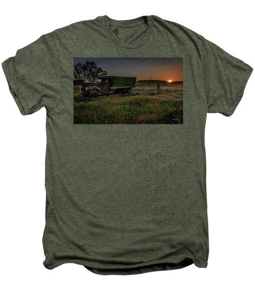 Clear Morning Sunrise Men's Premium T-Shirt