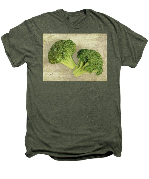 Due Broccoletti Men's Premium T-Shirt by Guido Borelli