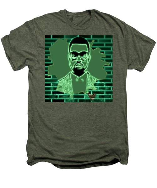Electric Kanye West Graphic Men's Premium T-Shirt by Dan Sproul