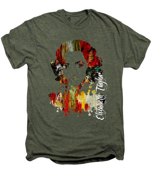 Elizabeth Taylor Collection Men's Premium T-Shirt by Marvin Blaine