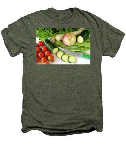 Fresh Vegetables Men's Premium T-Shirt