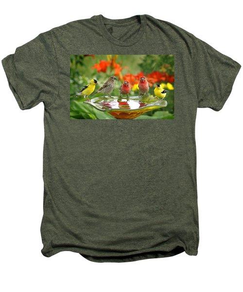 Garden Party Men's Premium T-Shirt by Bill Pevlor