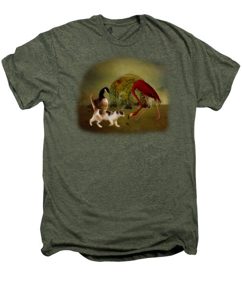 Global Initiative Men's Premium T-Shirt by Terry Fleckney