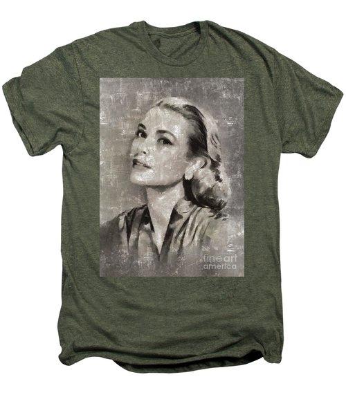 Grace Kelly By Mary Bassett Men's Premium T-Shirt