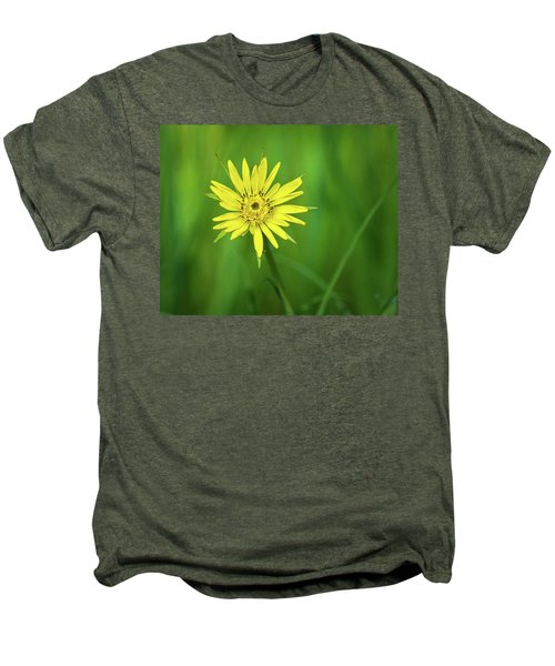 Men's Premium T-Shirt featuring the photograph Hello Wild Yellow by Bill Pevlor