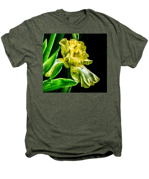 Iris In Bloom Men's Premium T-Shirt