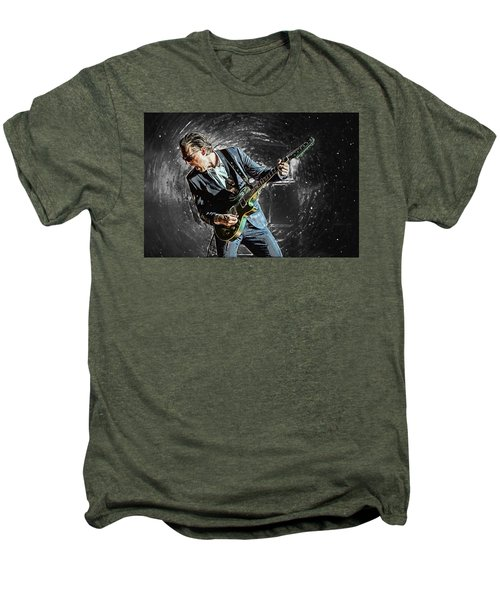 Joe Bonamassa Men's Premium T-Shirt by Taylan Apukovska