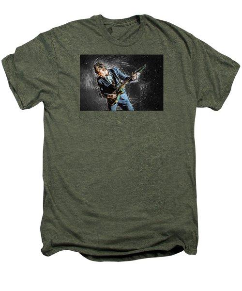 Joe Bonamassa Men's Premium T-Shirt by Taylan Apukovska