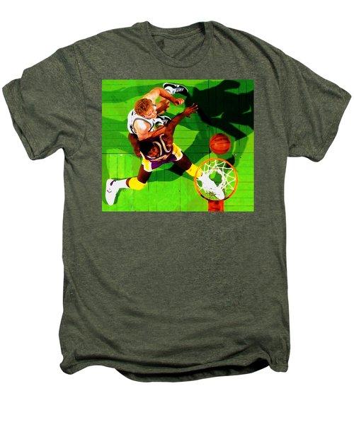 Magic And Bird Men's Premium T-Shirt by Brian Reaves