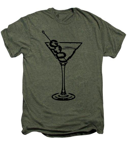 Martini Glass Tee Men's Premium T-Shirt